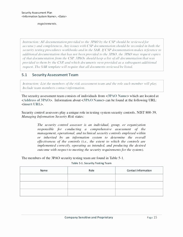 Vulnerability assessment Report Template Best Of 97 Physical Security Vulnerability assessment Template