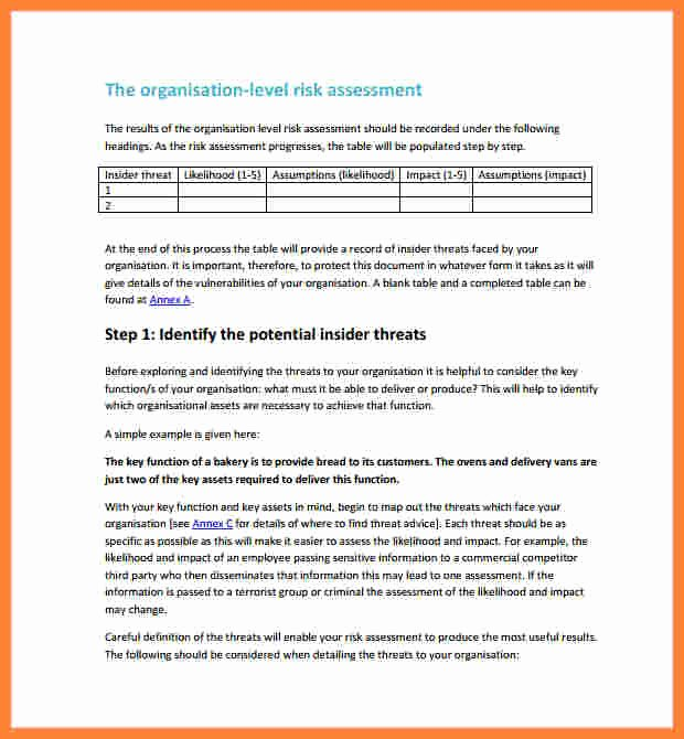 Vulnerability assessment Report Template Elegant 7 Vulnerability assessment Report Template