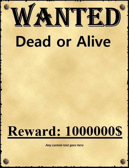 Wanted Poster Template for Word Awesome 29 Free Wanted Poster Templates Fbi and Old West