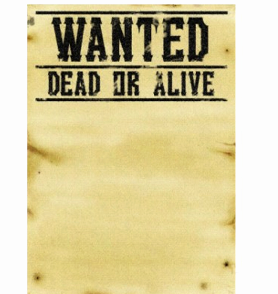 Wanted Poster Template for Word Beautiful 7 Wanted Poster Templates Excel Pdf formats