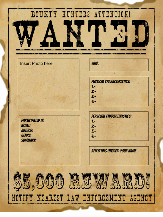 Wanted Poster Template for Word Beautiful Wanted Poster Templates Word Templates Docs
