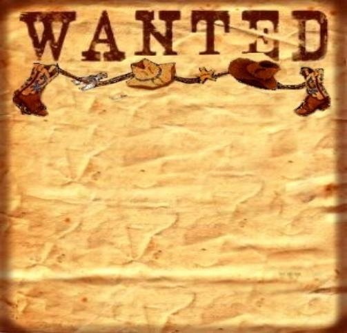 Wanted Poster Template for Word Lovely 6 Best Of Free Printable Western Templates