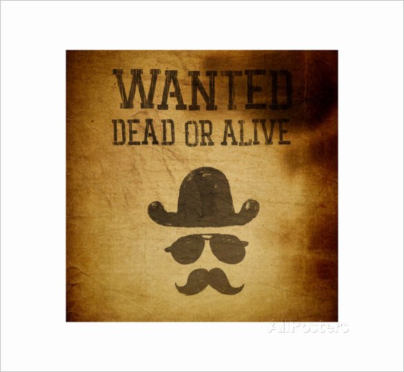 Wanted Poster Template Free Printable Awesome 14 Old Wanted Poster Templates Free Printable Sample