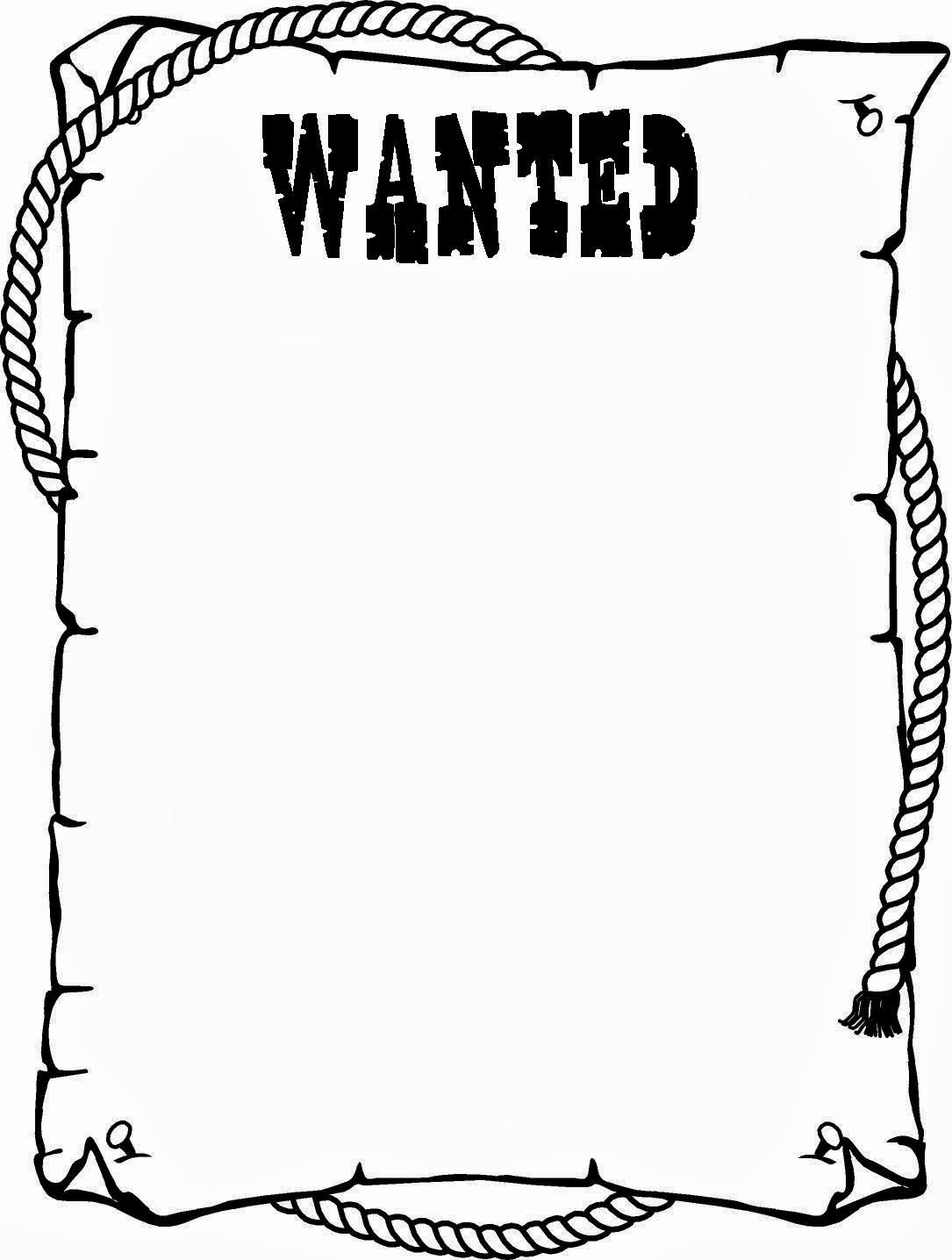 Wanted Poster Template Free Printable Awesome Wanted Poster Template for Kids Ctzobx5z
