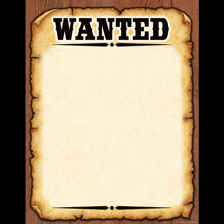 Wanted Poster Template Free Printable Fresh Template Wanted Poster Template
