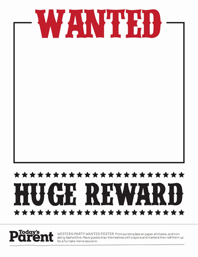 Wanted Poster Template Free Printable Fresh Wanted Poster Template Free Download Create Edit Fill
