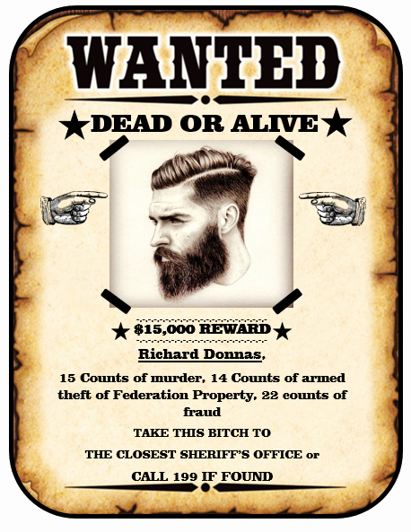 Wanted Poster Template Free Printable Fresh Wanted Poster Template