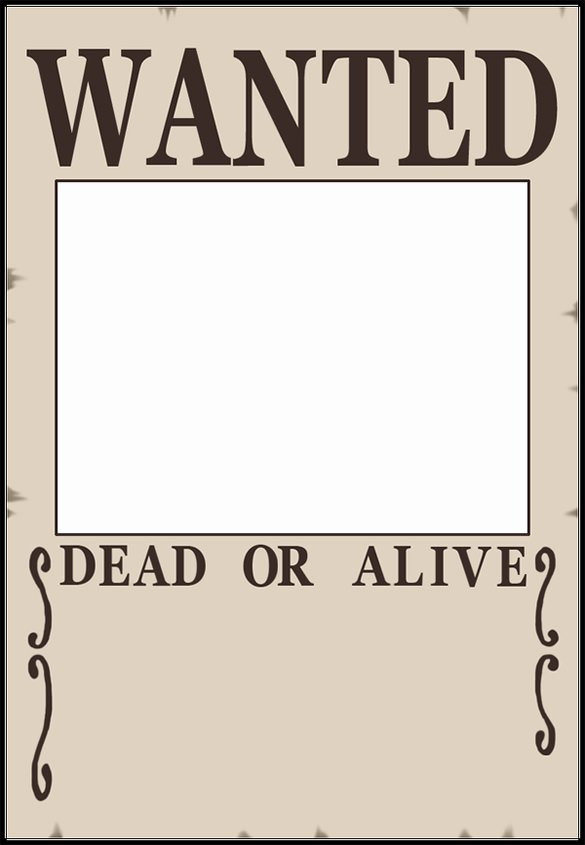 Wanted Poster Template Free Printable Luxury 11 Blank Wanted Posters Free Printable Word Pdf Psd