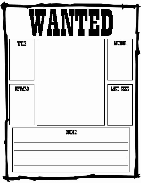 Wanted Poster Template Free Printable New Polka Dots & Pencils A Story & Six Freebies