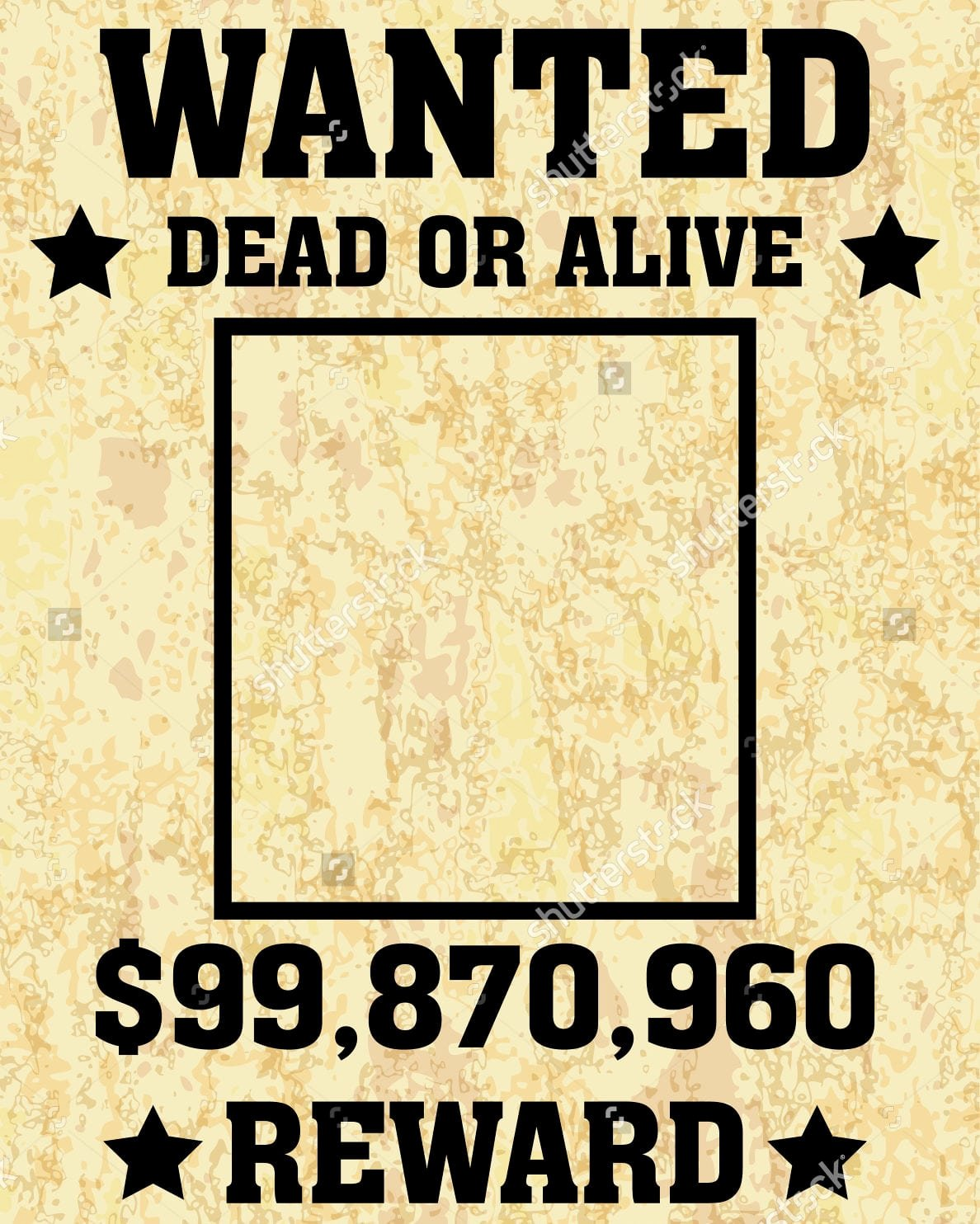 Wanted Poster Template Microsoft Word Elegant 6 Wanted Poster Templates Word Excel Templates
