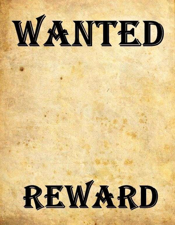 Wanted Poster Template Microsoft Word Elegant 9 Wanted Poster Templates Word Excel Pdf formats