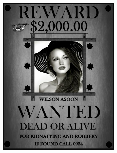 Wanted Poster Template Microsoft Word Fresh 13 Free Wanted Poster Templates Printable Docs