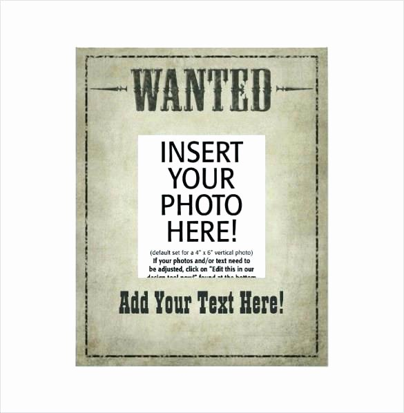 Wanted Poster Template Microsoft Word Inspirational Wanted Poster Book Report Project Templates Template