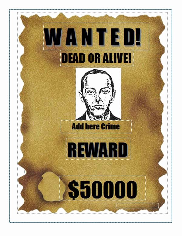 Wanted Poster Template Microsoft Word Luxury Poster Template Category Page 2 Efoza