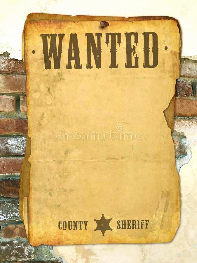 Wanted Poster Template Microsoft Word New Make You Own Wanted Poster My Background for Microsoft