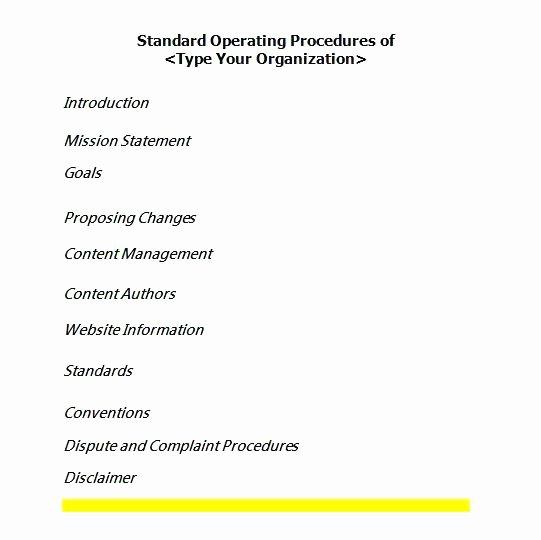 Warehouse Standard Operating Procedures Template Inspirational Fleet Management Logistics Operational Guide Log Digital