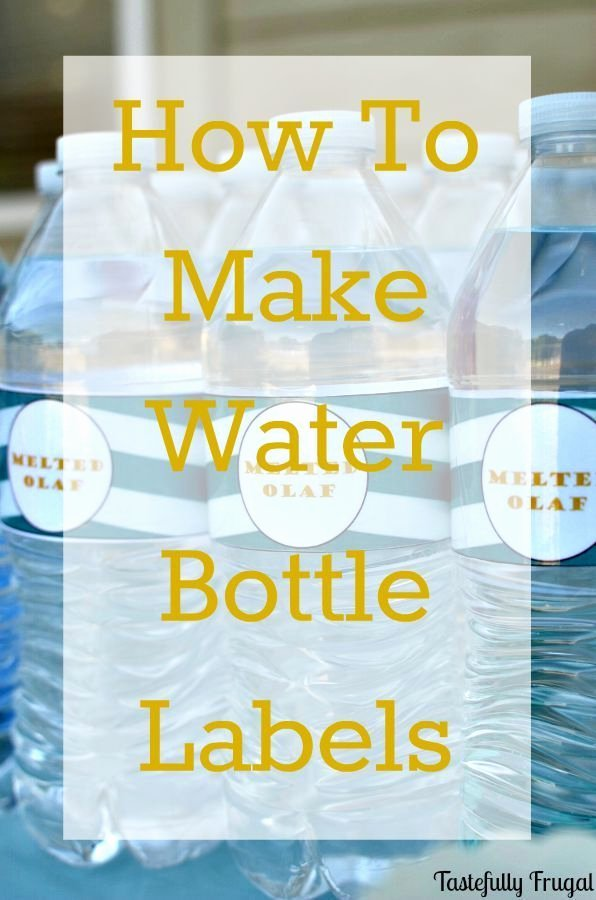 Water Labels Template Free Beautiful 1000 Ideas About Personalized Water Bottle Labels On