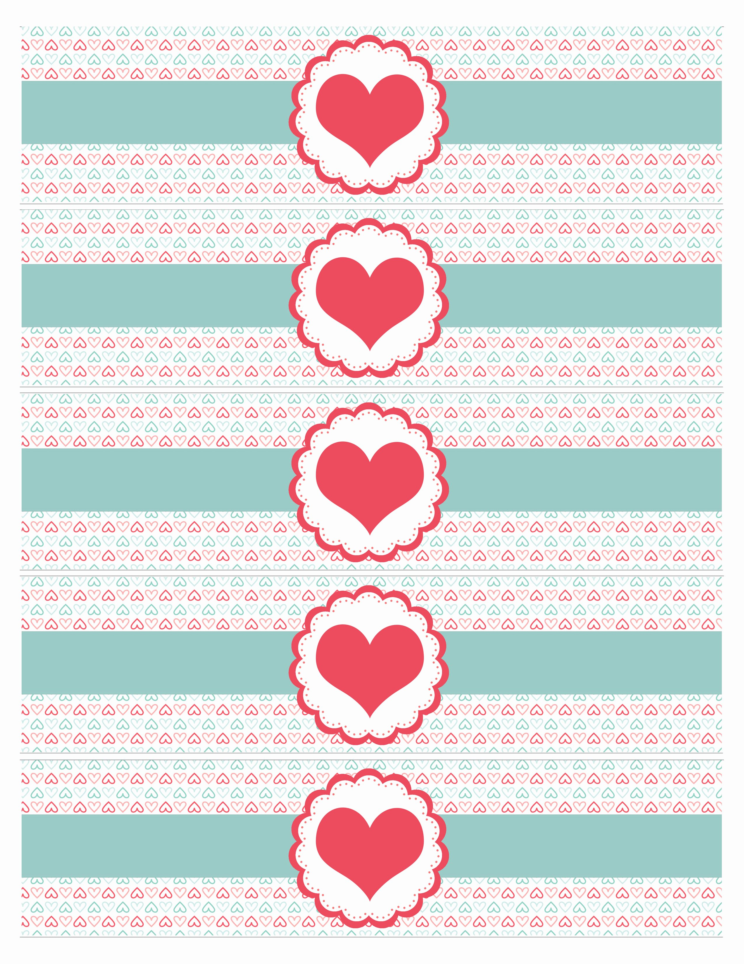Water Labels Template Free New Valentine S Day Party Free Printables How to Nest for Less™