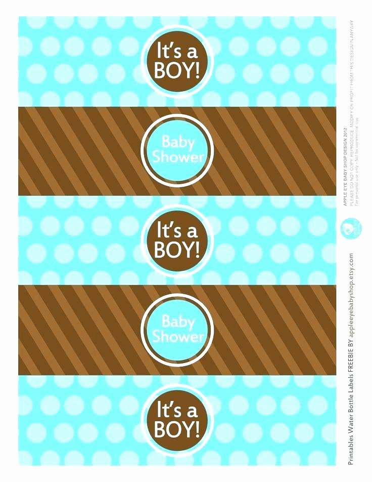 Water Labels Template Free Unique Free Printable Water Bottle Labels Template for Graduation