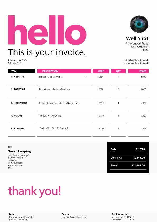 Web Design Invoice Template New 23 Best Fancy Business forms Images On Pinterest
