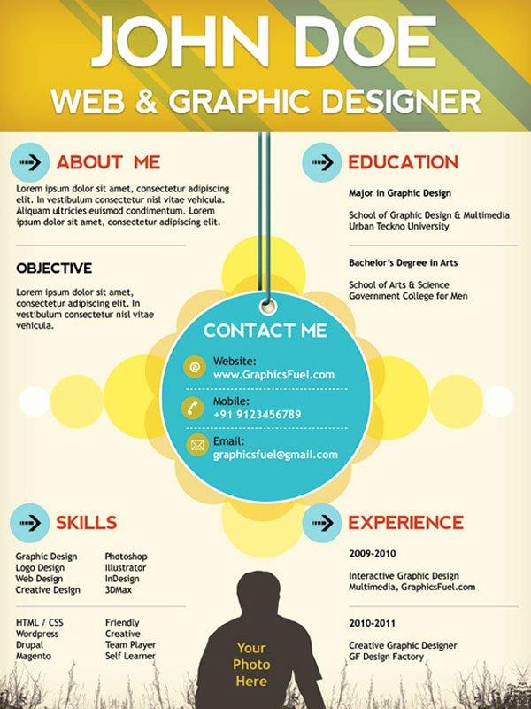 Web Designer Resume Template Beautiful 5 Plantillas Para Curriculum Vitae Gratis