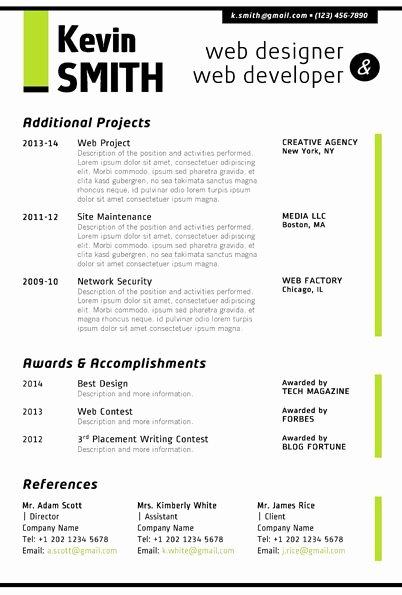 Web Designer Resume Template Elegant Image Result for Jr Web Developer Resume