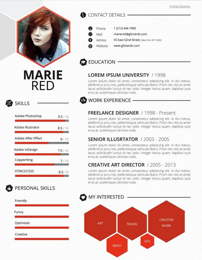 Web Designer Resume Template Lovely 50 Creative Resume Design Samples that Will Make You