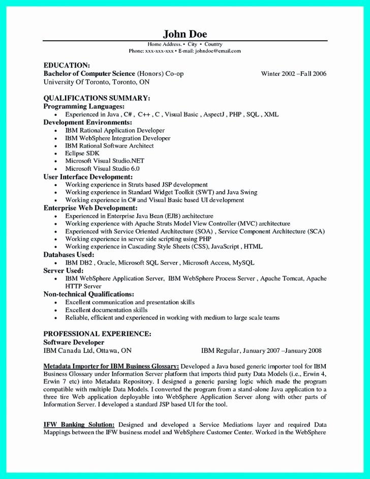 Web Developer Resume Template Best Of Full Stack Web Developer Resume Sample Tag Puter