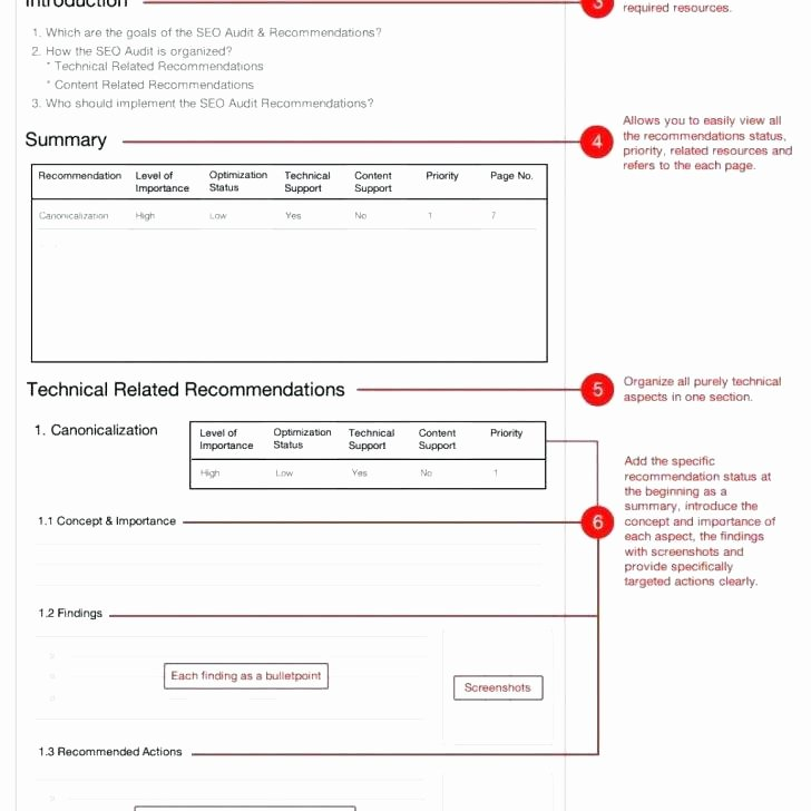 health and safety audit report format template free templates example