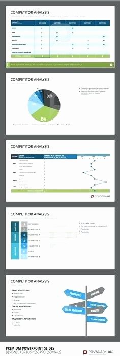 Website Competitive Analysis Template Fresh Website Petitor Analysis Template Petitive 5