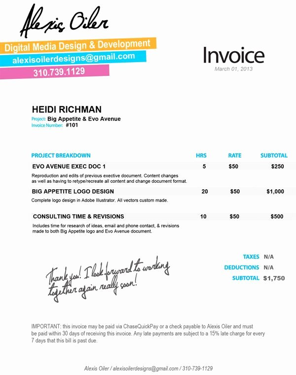 Website Design Invoice Template Elegant 24 Best Design Invoices Images On Pinterest