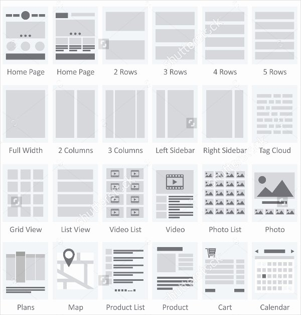 Website Site Map Template Lovely 13 Productive Ux Flowchart Templates
