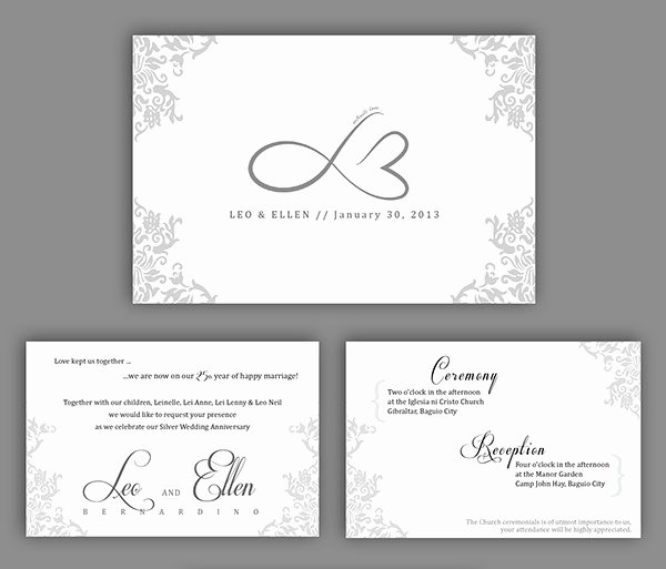 Wedding Anniversary Invitation Template Awesome 22 Wedding Anniversary Invitation Card Templates Word