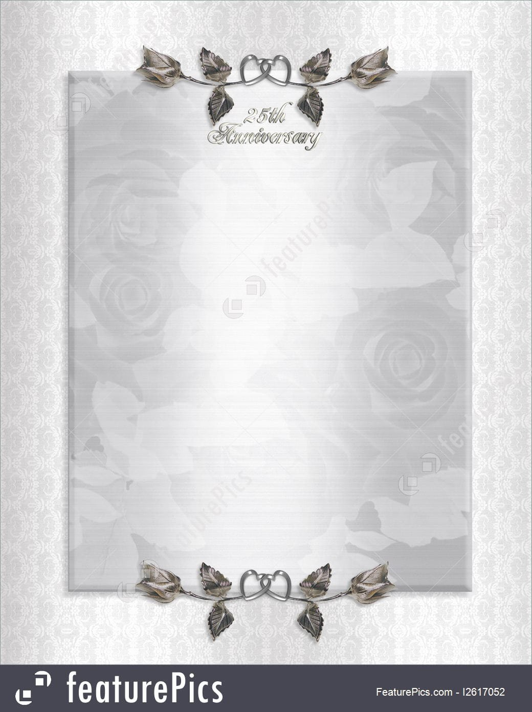 Wedding Anniversary Invitation Template Beautiful Silver Wedding Anniversary Invitations Templates
