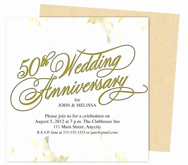 Wedding Anniversary Invitation Template Best Of Church Anniversary Invitation Template Samples Letter