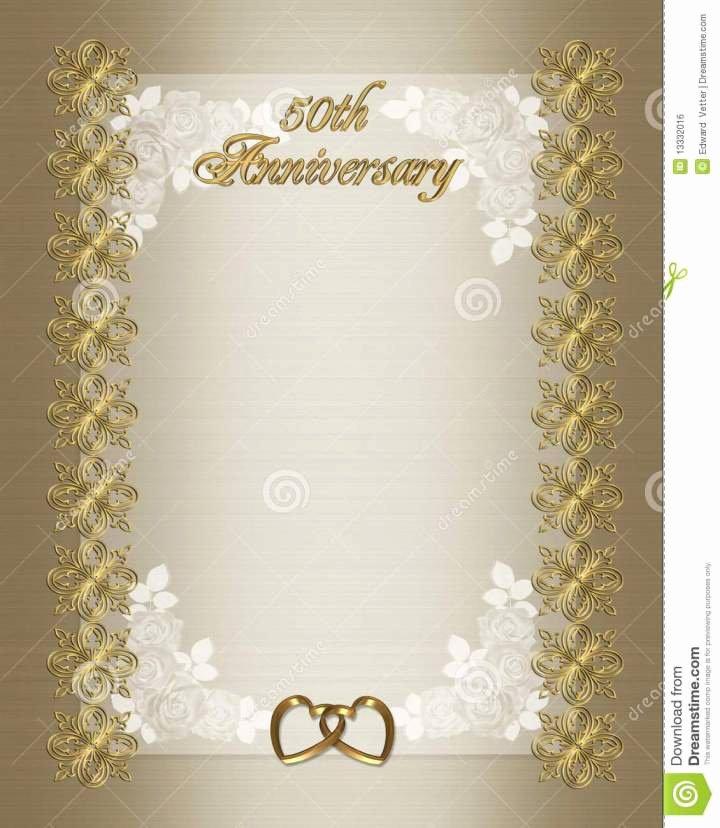 Wedding Anniversary Invitation Template Best Of Wedding Program Border Microsoft Word