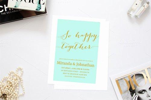 Wedding Anniversary Invitation Template Inspirational 22 Anniversary Invitation Templates Psd Ai Word