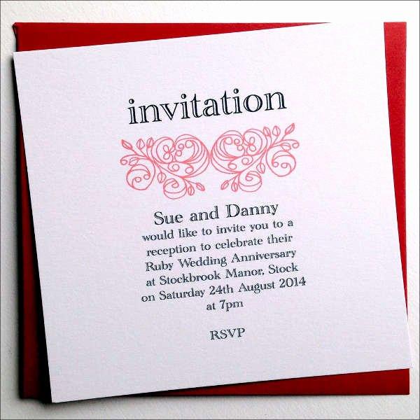 Wedding Anniversary Invitation Template Luxury Contoh Invitation Message Fontoh