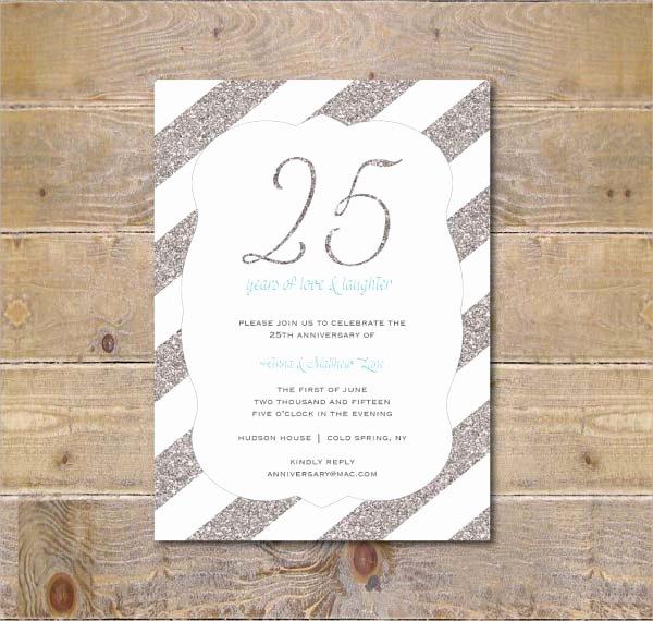 Wedding Anniversary Invitation Template New 10 Anniversary Invitation Templates Premium and Free