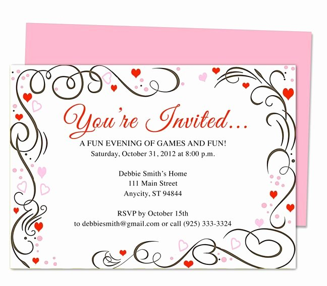 Wedding Anniversary Invitation Template New 17 Best Images About 25th & 50th Wedding Anniversary