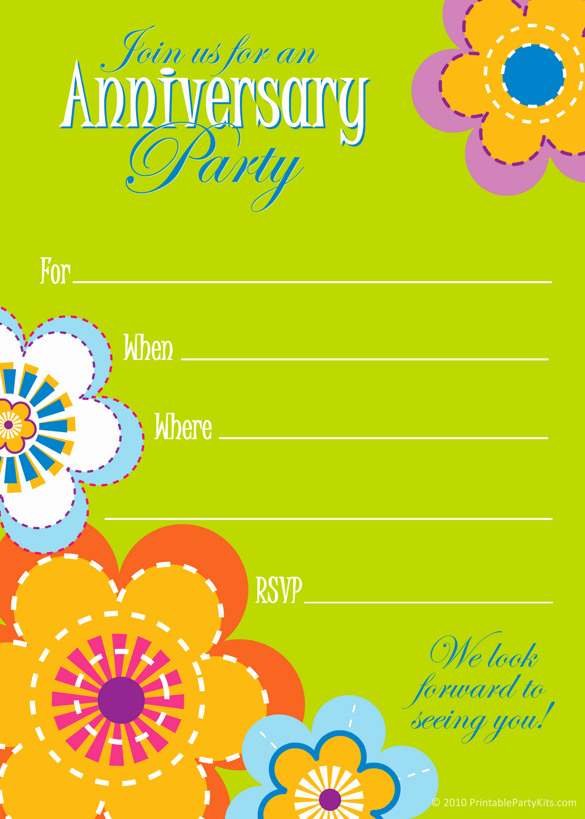 Wedding Anniversary Invite Template Awesome Wedding Anniversary Invitation Template Free