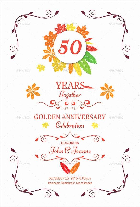 Wedding Anniversary Invite Template Fresh 30 Anniversary Invitation Templates Psd Vector Eps Ai