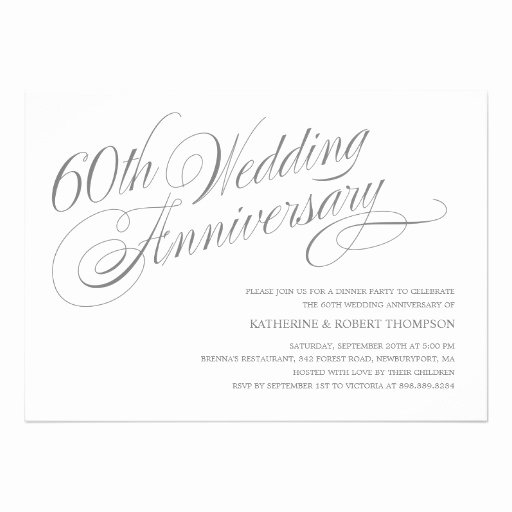 Wedding Anniversary Invite Template Fresh Wedding Invitation Wording Diamond Wedding Anniversary