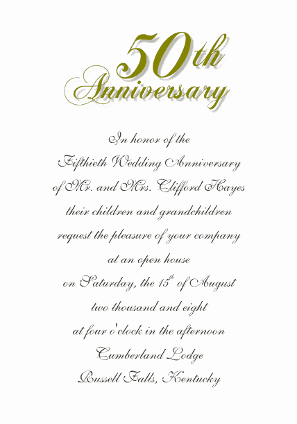 Wedding Anniversary Invite Template Luxury Free Wedding Templates