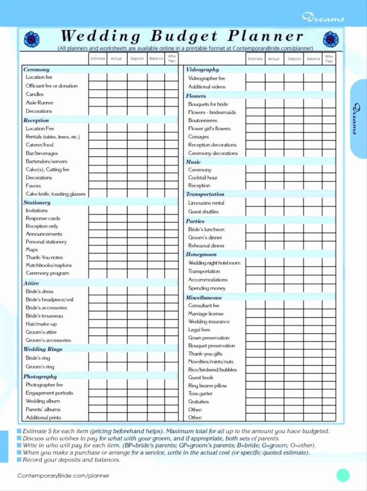Wedding Checklist Excel Template Awesome Wedding Planning Checklist Excel Spreadsheet – Spreadsheet