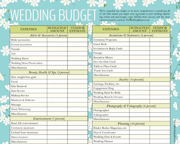 Wedding Checklist Excel Template Lovely Wedding Bud Template