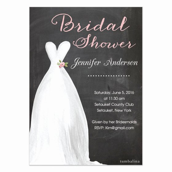 Wedding Dress Invitation Template Best Of Bridal Shower Invite Dress Invitations & Cards On Pingg