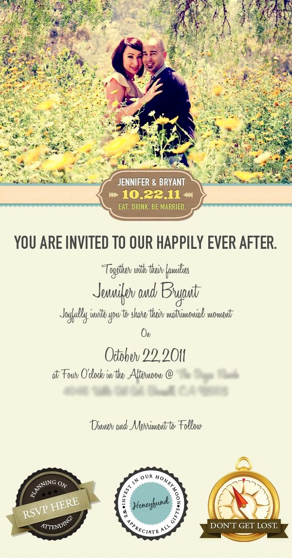 Wedding Invitation Email Template Awesome Email Wedding Invitation by Vincent Valentino Via Behance