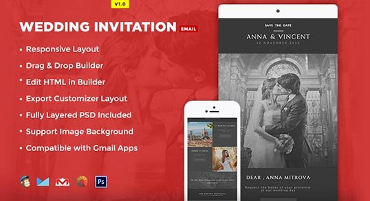 Wedding Invitation Email Template Fresh Wedding Invitation Card Email Template Buy Premium