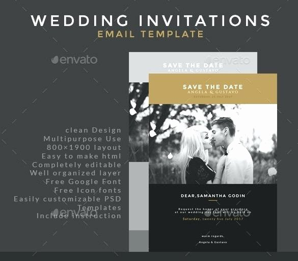 Wedding Invitation Email Template Inspirational Email Invitation Templates Free Letter for Visa Sample